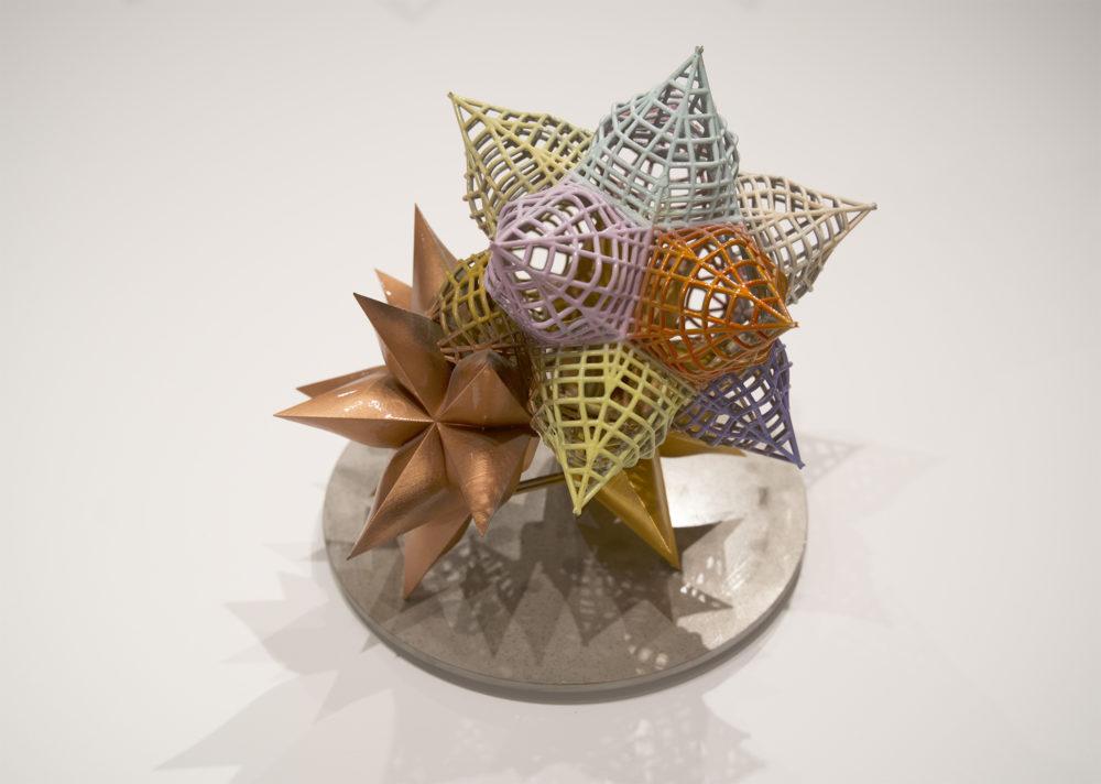 Small star sculpture