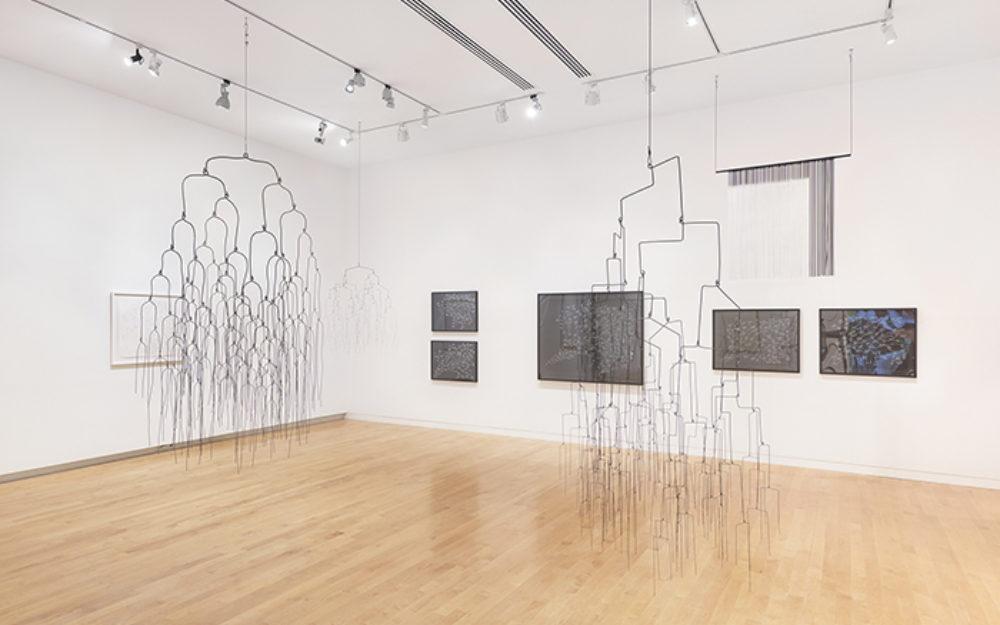 Large hanging sculptural works