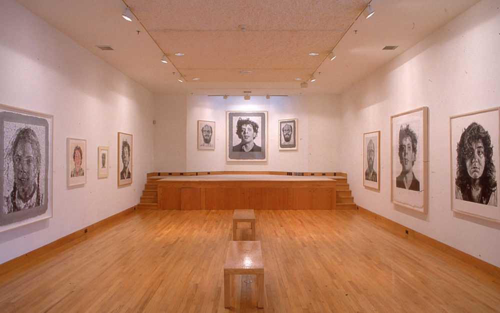 Chuck Close: Works on Paper from the Collection of Sherry Hope Mallin installation view