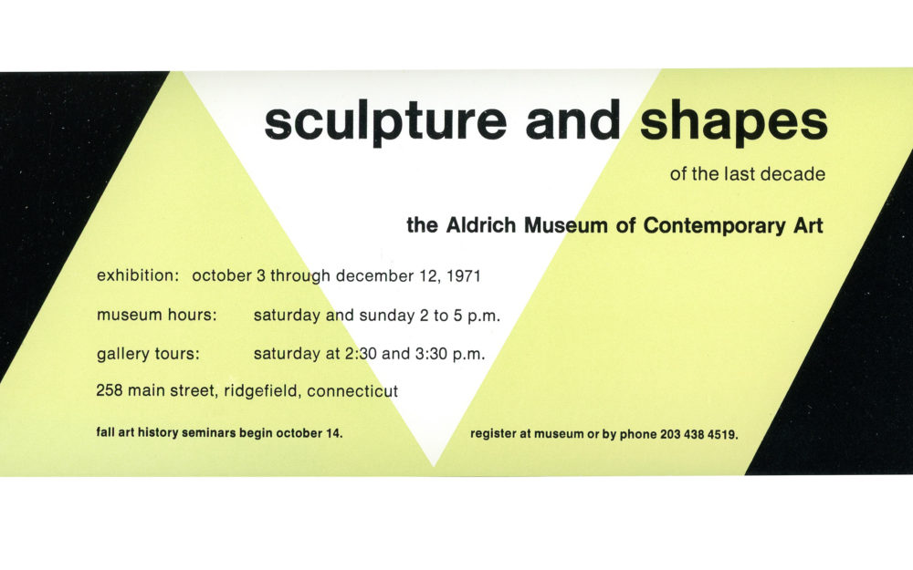 Sculpture and Shapes flyer
