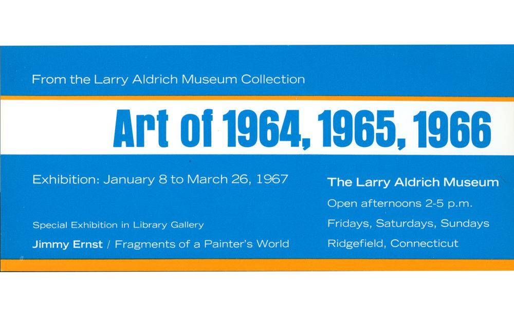 Art of 1964, 1965, 1966