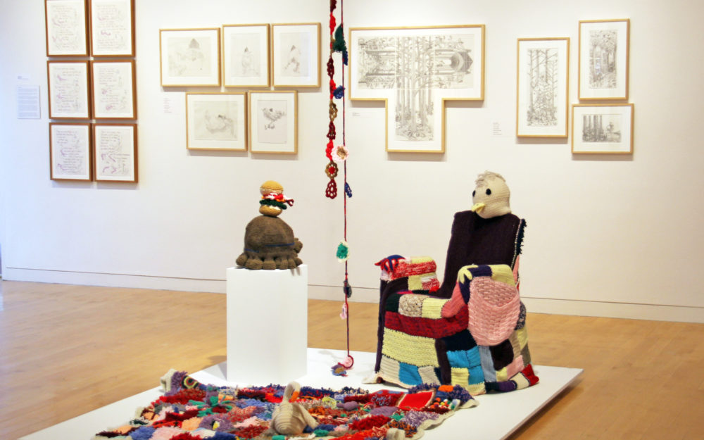 How Art Changed the Prison: The Work of CPA's Prison Arts Program, The Aldrich Contemporary Art Museum (installation view); Photo by Christopher E. Manning