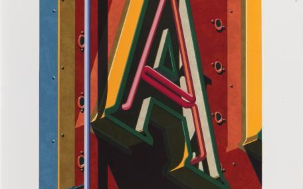Robert Cottingham, A, 1996