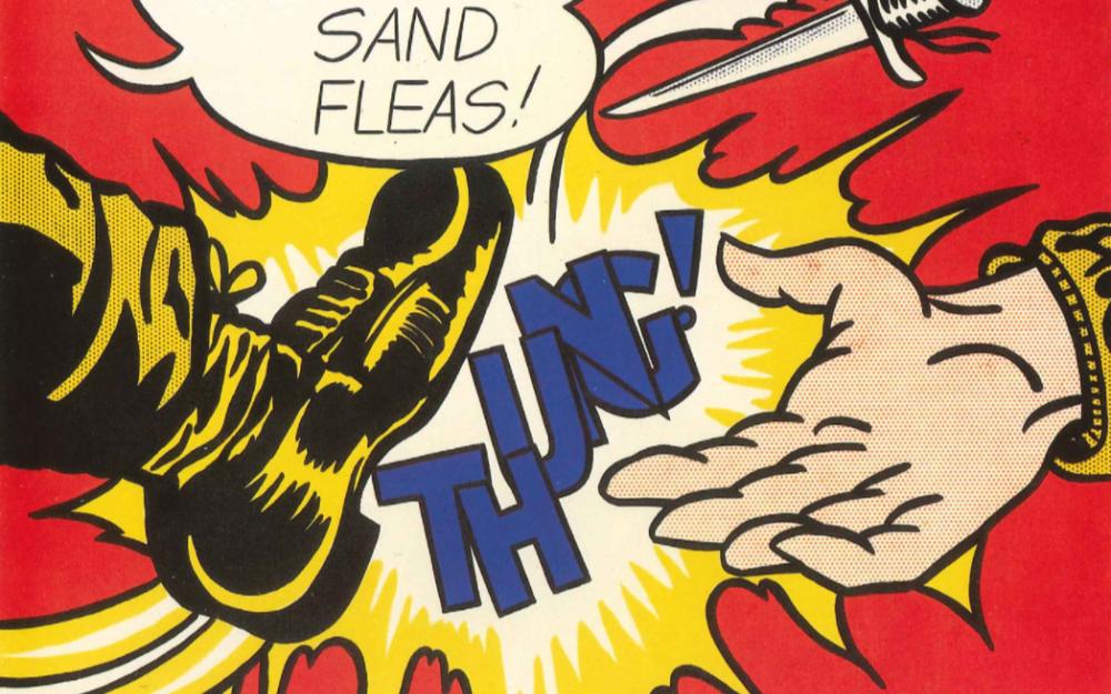 Roy Lichtenstein, Flatten Sand Fleas (1962)