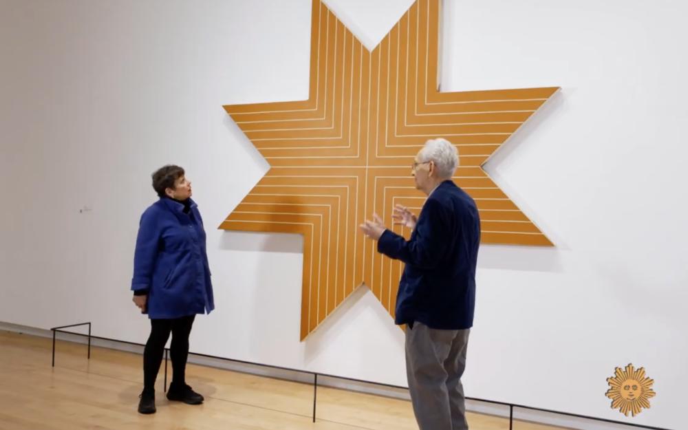Frank Stella interviewed in the galleries