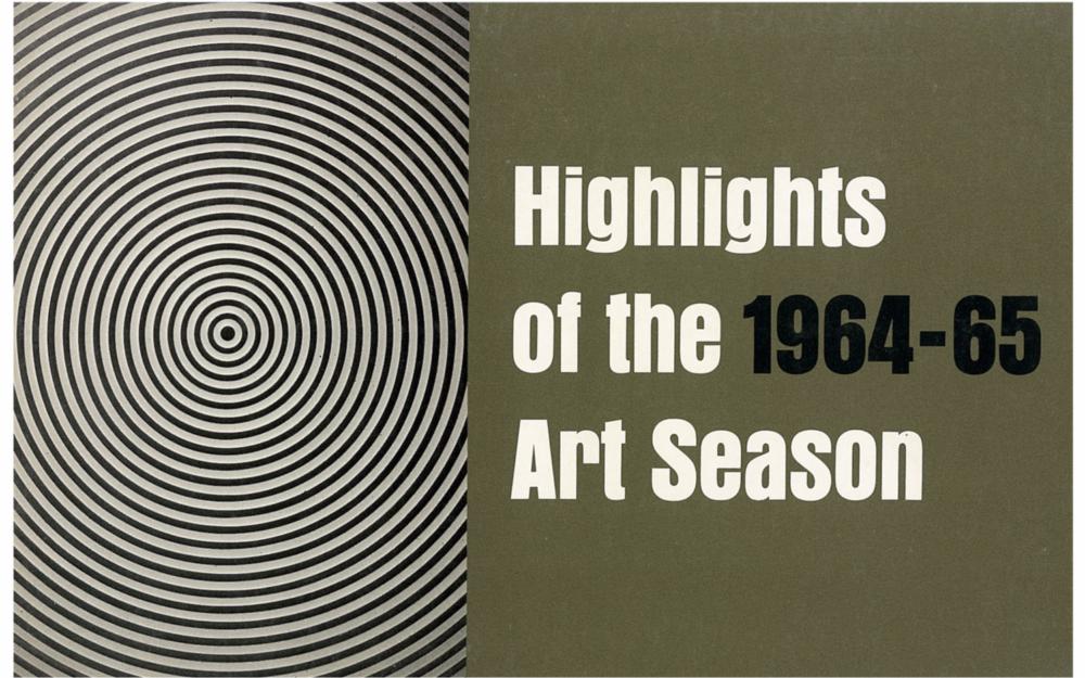 Highlights of the 1964 - 65 Art Season
