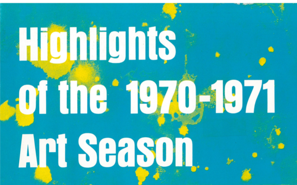 Highlights of the 1970-1971
