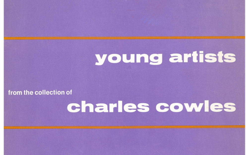 Young Artists from the Collection of Charles Cowles