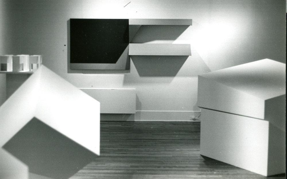 Installation of multiple sculptural works
