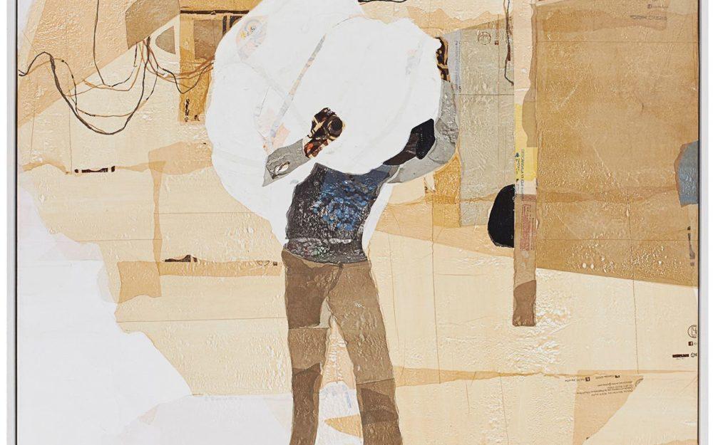 Painting by Hugo McCloud