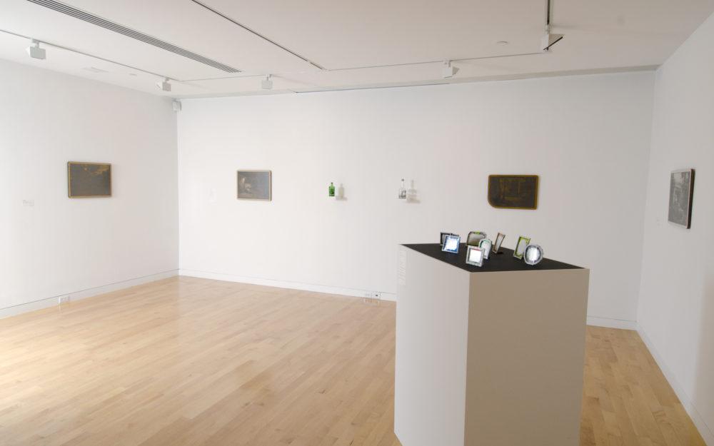 Installation view of Jim Dingilian's Subtractive Images