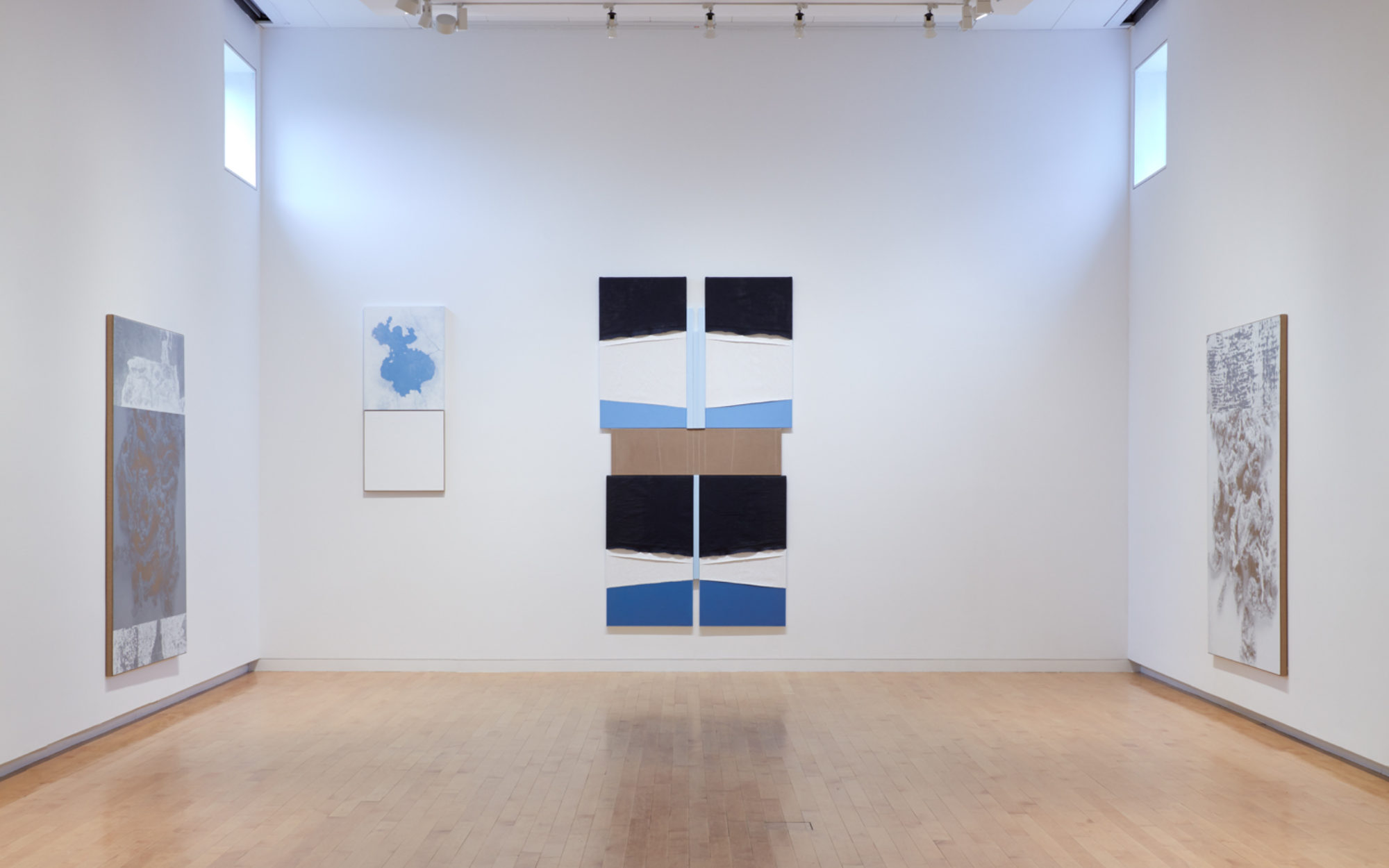 Install view of N. Dash exhibition