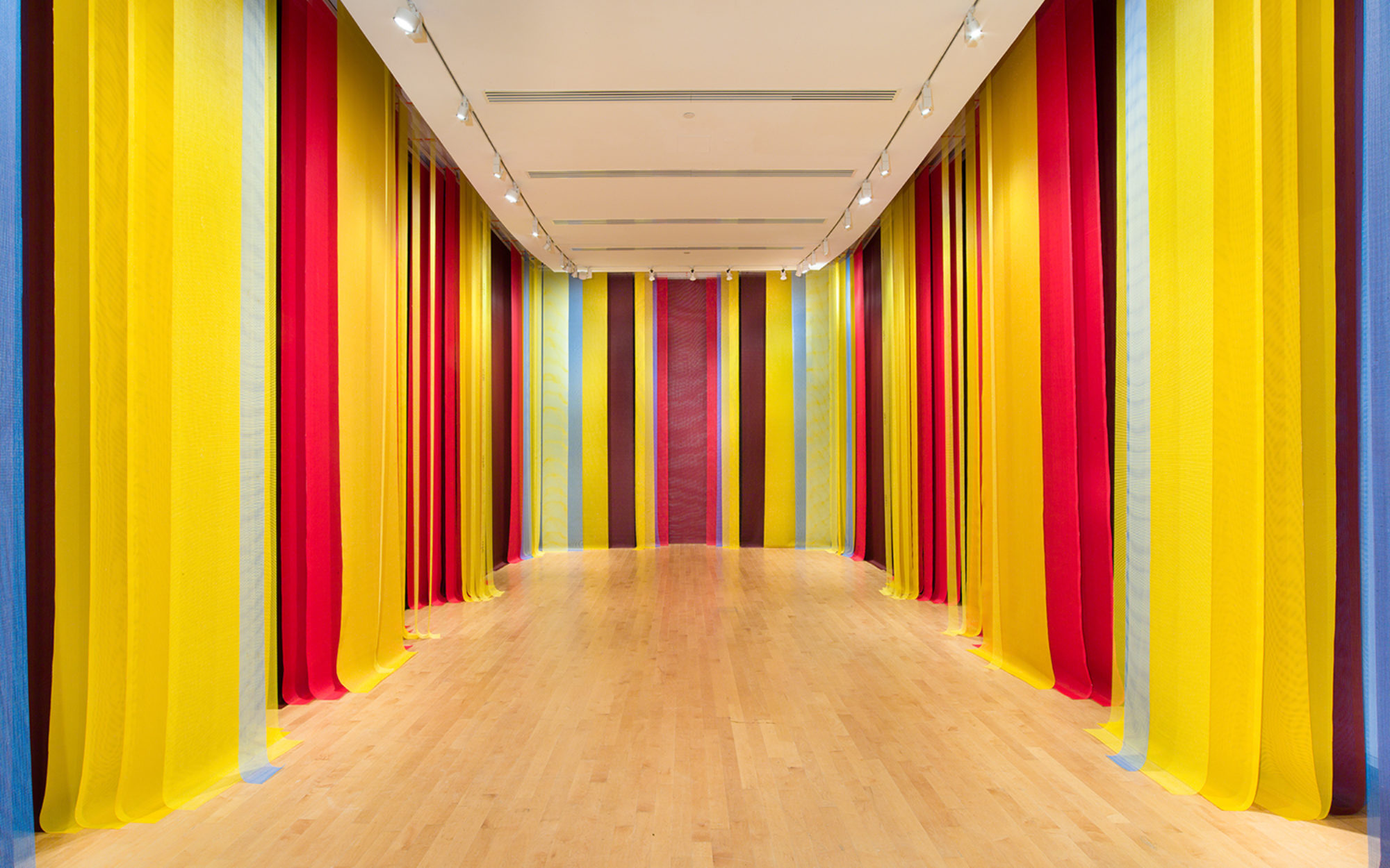 Eva LeWitt installation view at The Aldrich Contemporary Art Museum