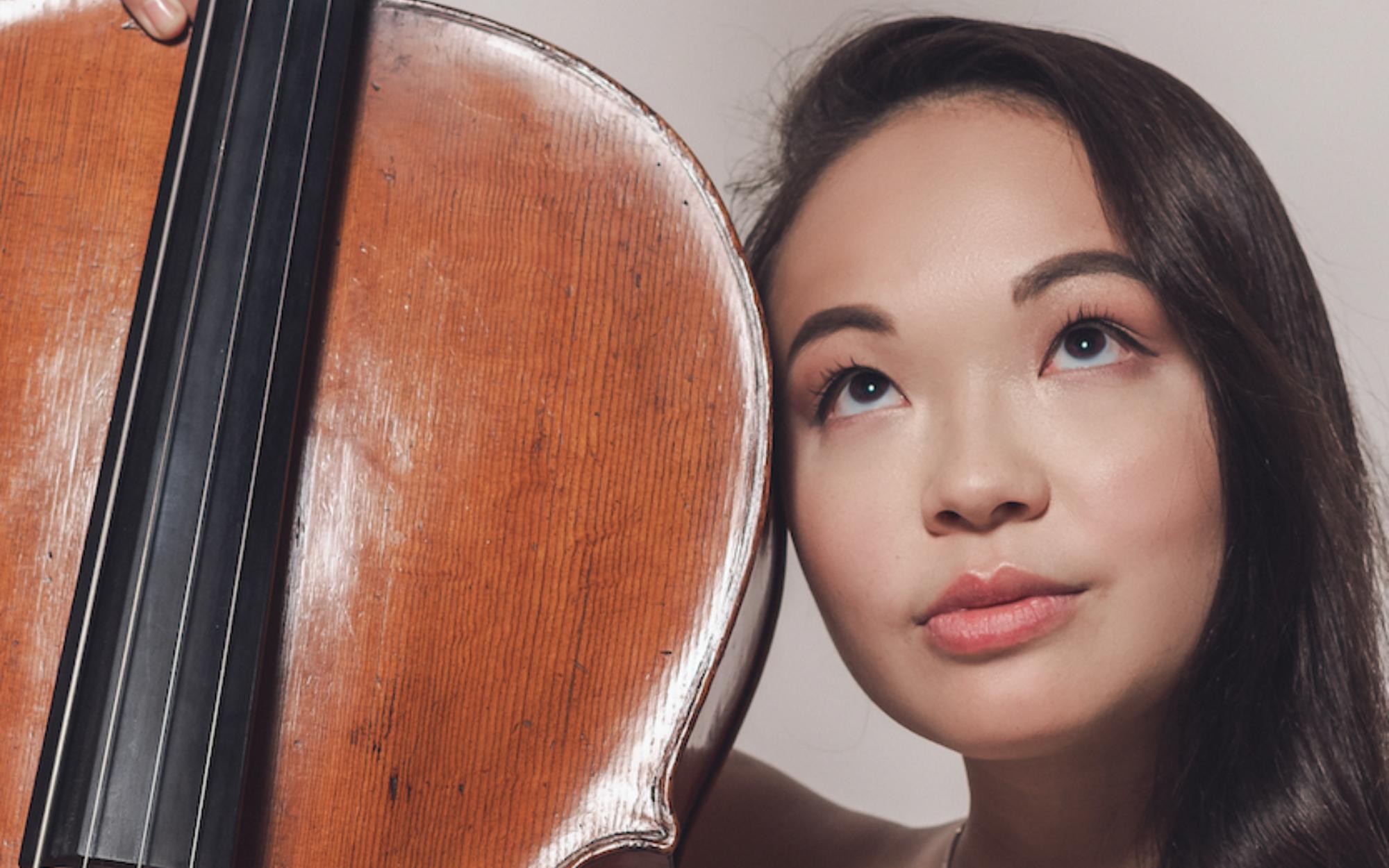 Sasha Ono with her cello