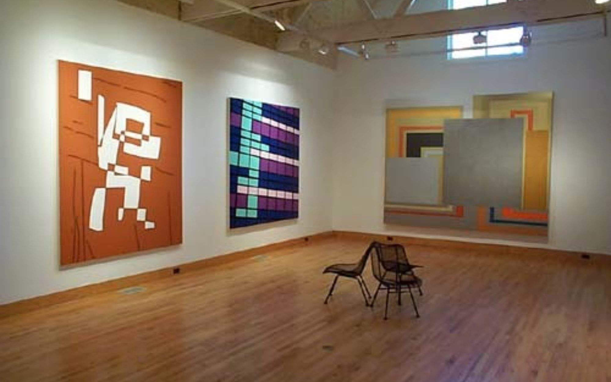 Installation view of Glee: Painting Now