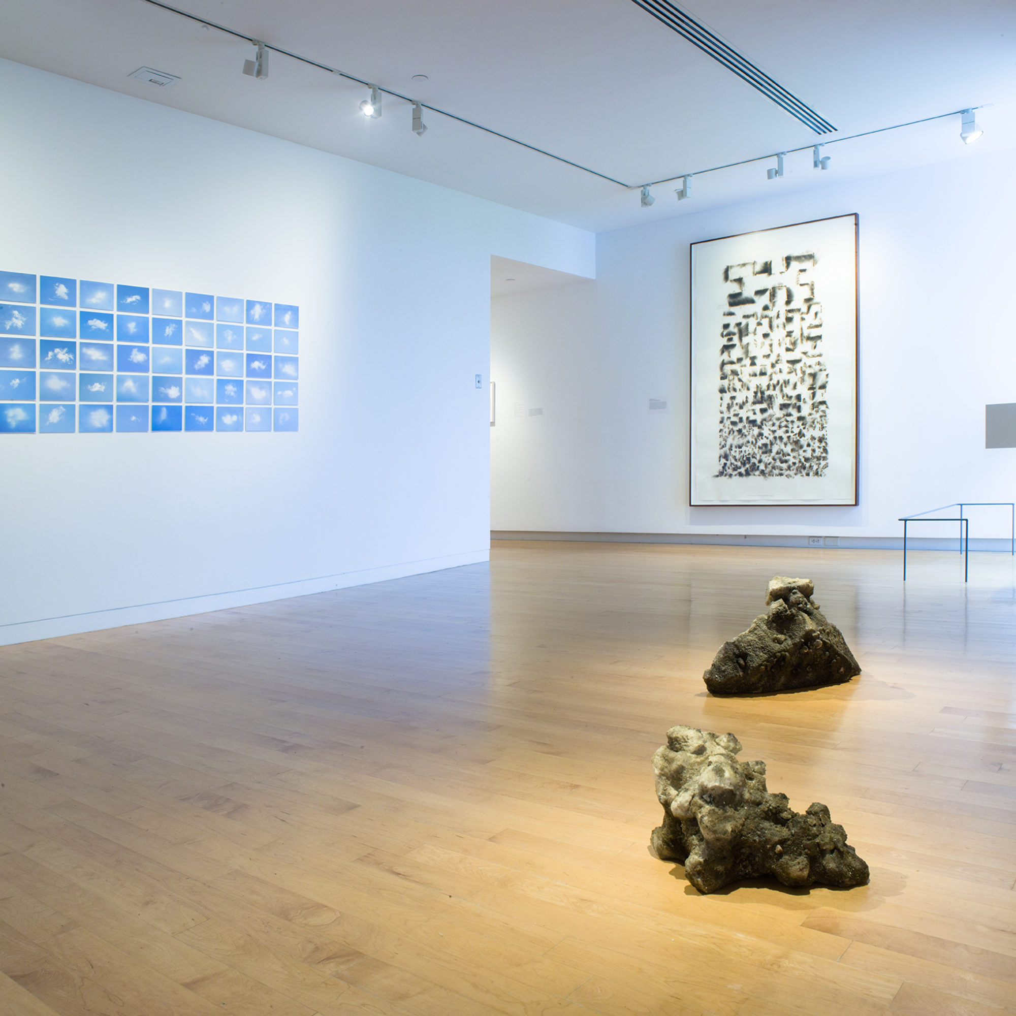 Weather Report installation view at The Aldrich