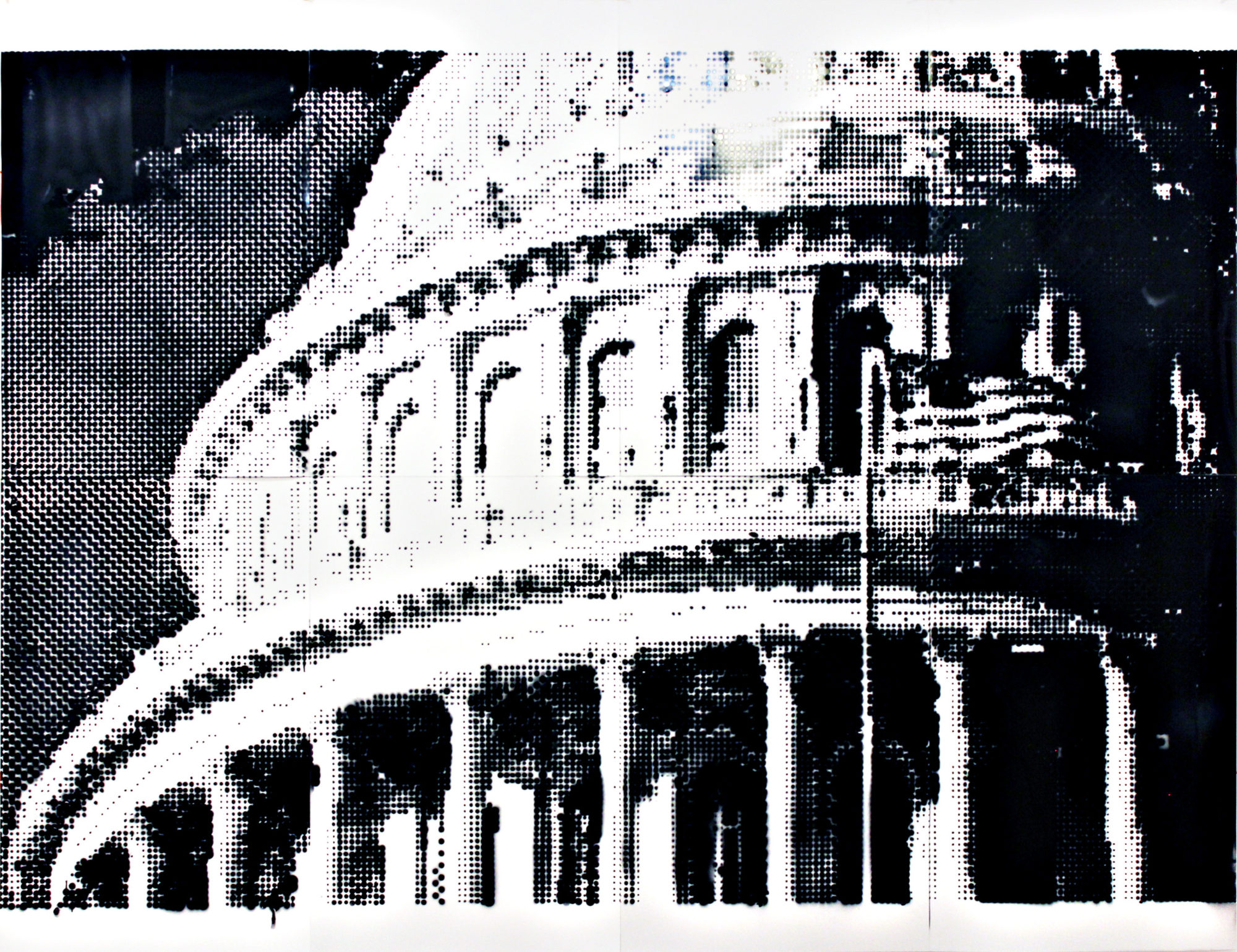 Drawing of dome of US Capitol building.