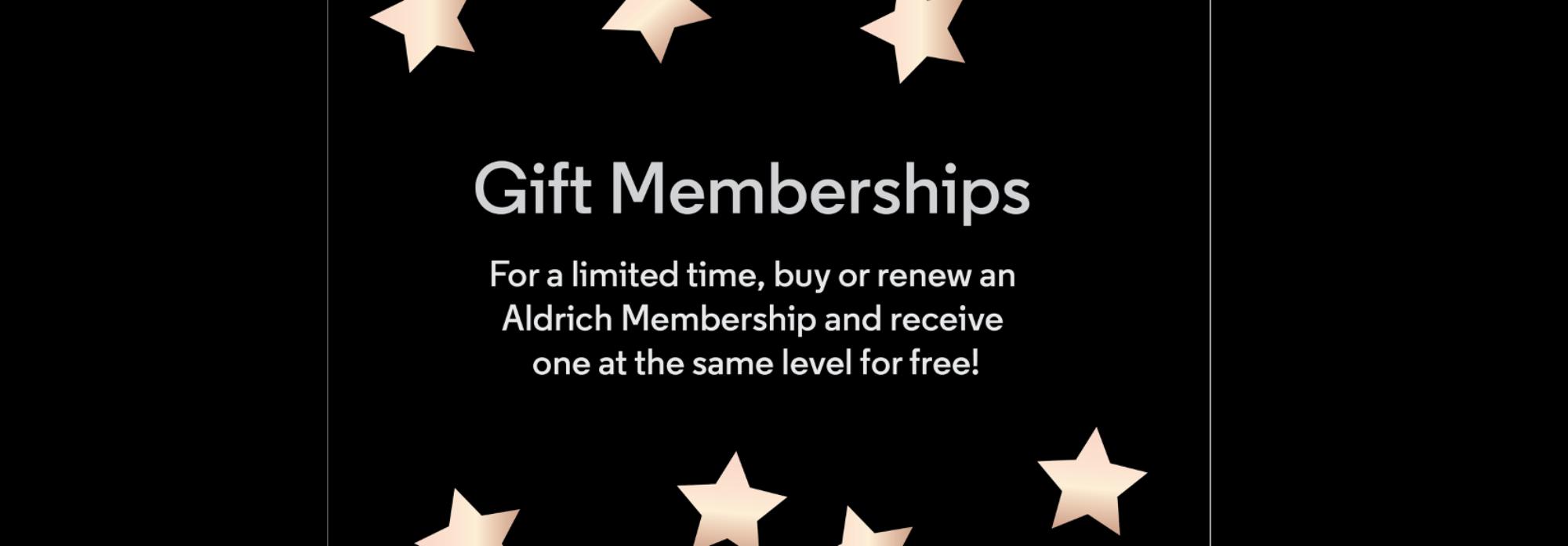 Gift membership 2 for 1