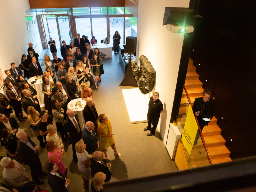 Gala attendees at The Aldrich
