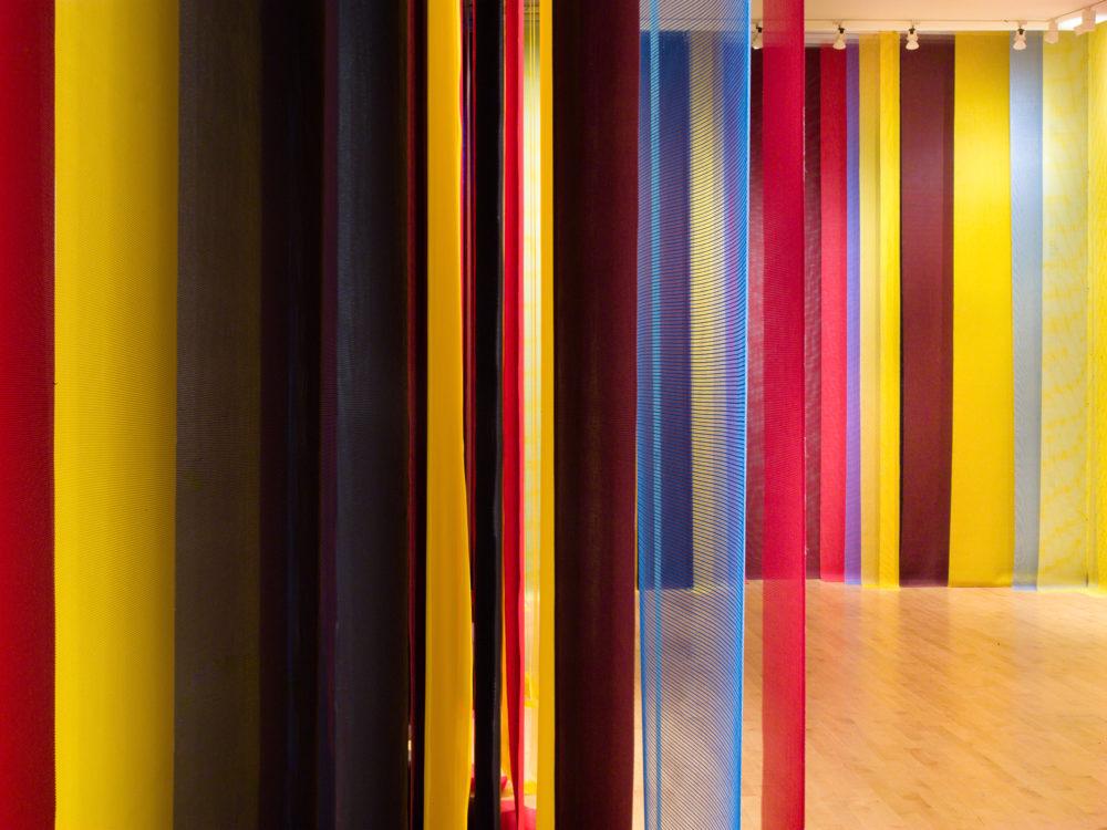 Eva LeWitt installation view at The Aldrich Contemporary Art Museum