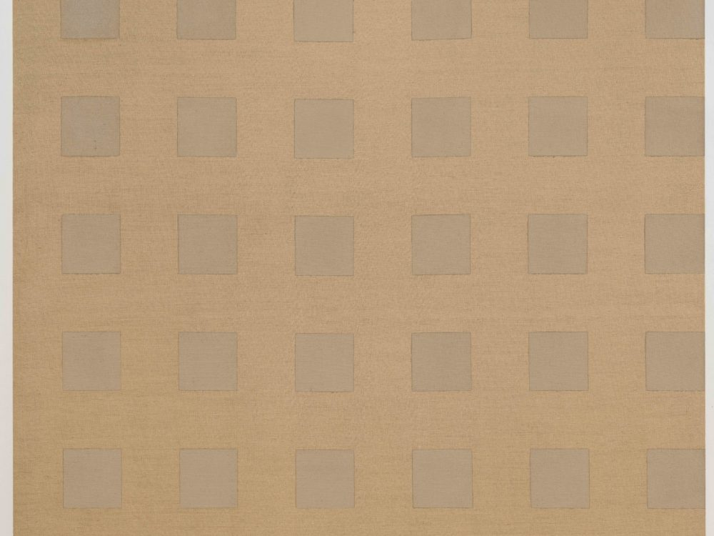 Beige and tan squares in a grid.